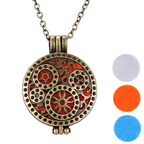 Steampunk Style Oil Necklace