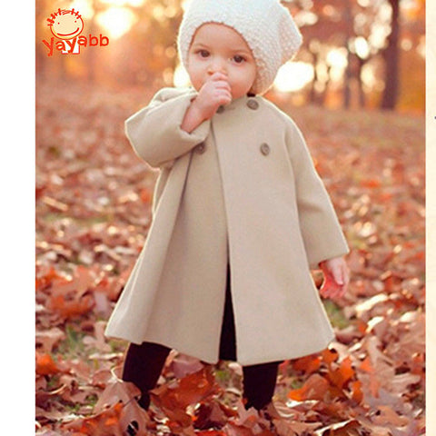 Girls Fashion Autumn Coat Size 2T-10