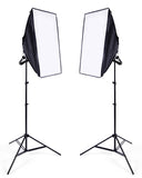 Single Lamp Photography Softbox Kit