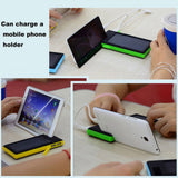 High Quality 12000mAh Dual USB Solar Power Bank