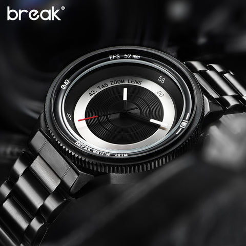 Break Original Luxury Quartz Camera Lens Watch