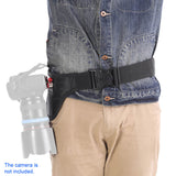 Quick-Release Camera Belt w/ Metal Holster