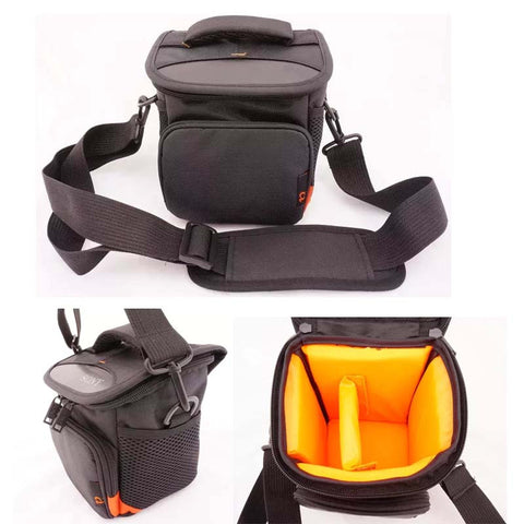 Black Camera Case Bag - M Size