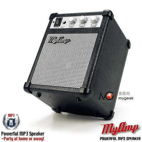 Mini Amp Portable Speaker