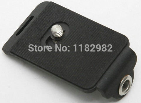 Camera Quick Release Plate With 1/4 Screw Plate & Tripod Adaptor