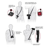 Professional Camera Holster Adjustable Quick Release Camera Safety Strap (19-60in) - CHECKOUT OFFER ONLY