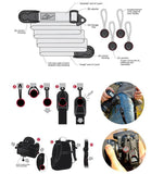 Professional Camera Holster Adjustable Quick Release Camera Strap (19-60in)