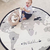 Play Mat Round World Adventures Carpet Room Decoration