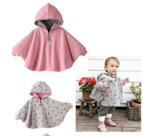 Children's Smock Fleece cloak