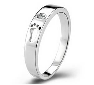 Baby Footprint Ring