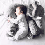 Soft Baby Elephant Plush Pillow