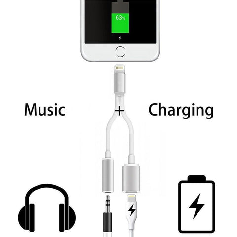 2 In 1 Lightning Charger & Audio Jack