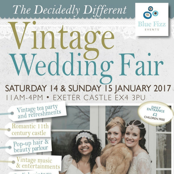 Save The Date: The Decidedly Different Vintage Wedding Fair