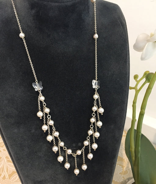Competition: Win a stunning silver & freshwater pearl necklace!