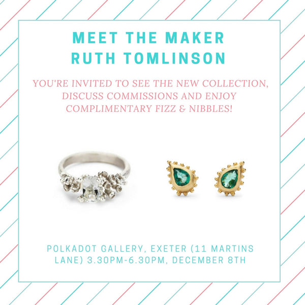 Save the Date - Meet Ruth Tomlinson
