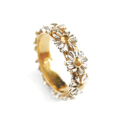 Daisy Wreath Ring
