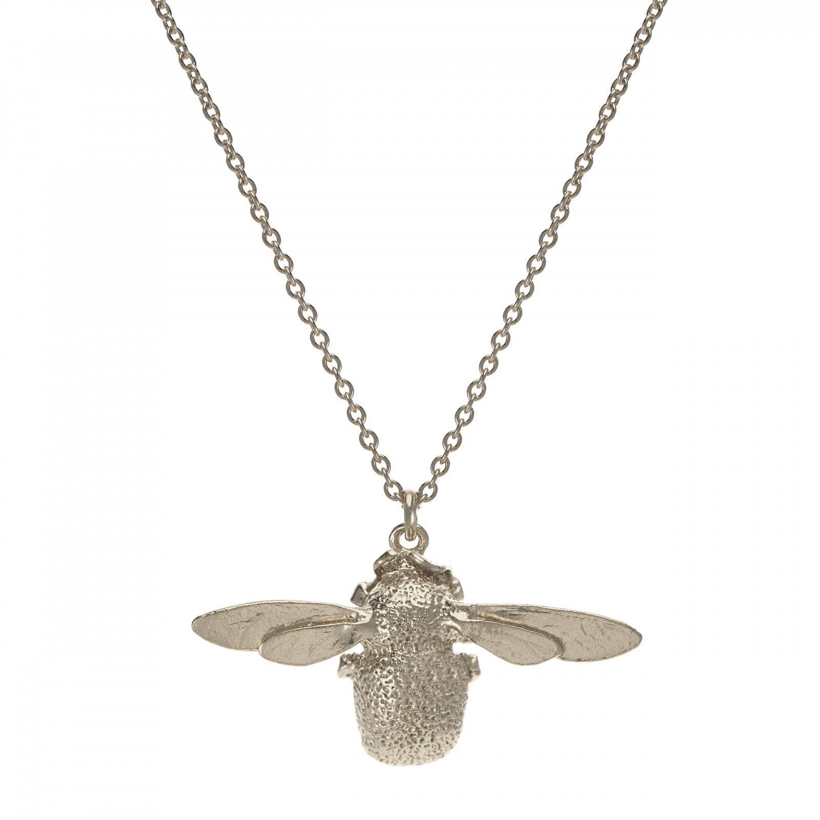 Silver Bumblebee Necklace
