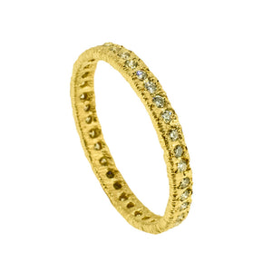 14ct Yellow Gold Eternity Ring