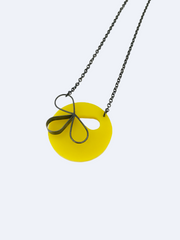 Round yellow pendant