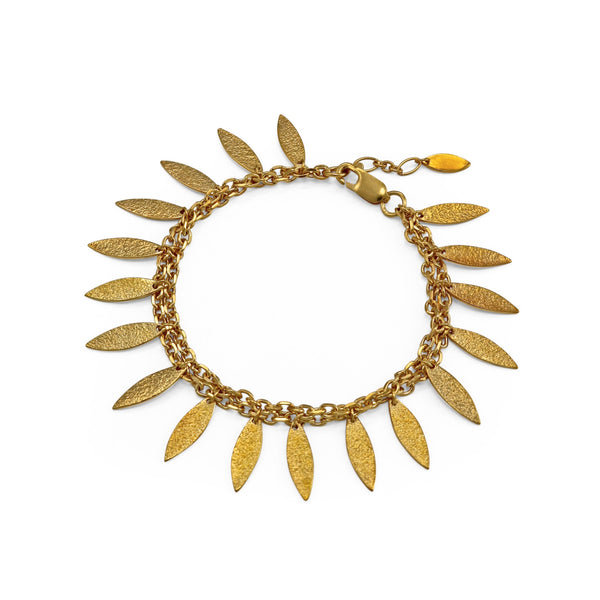 Icarus Drops Bracelet in Gold