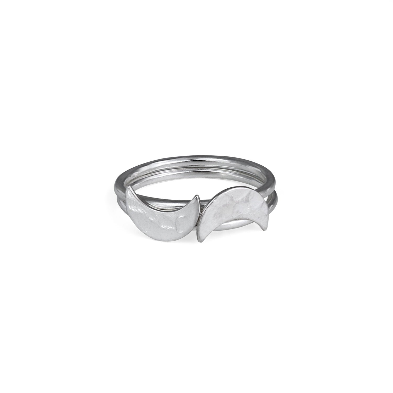 Silver Selene Stacking Ring