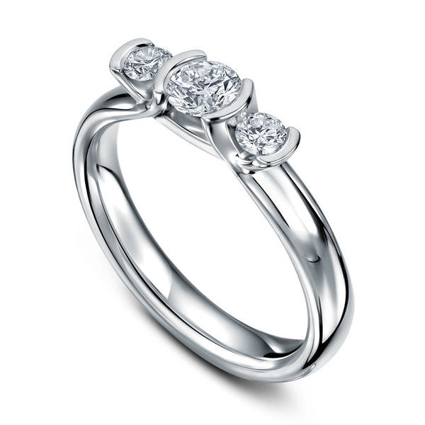 Triumph Brilliant 18ct White Gold Ring
