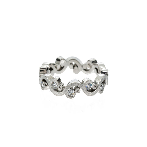 Diamond Baroque Ring