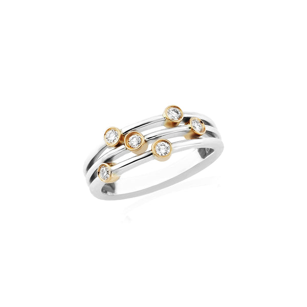 Diamond Scatter Ring