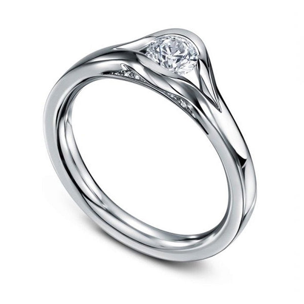 Platinum & Diamond Reveal Ring