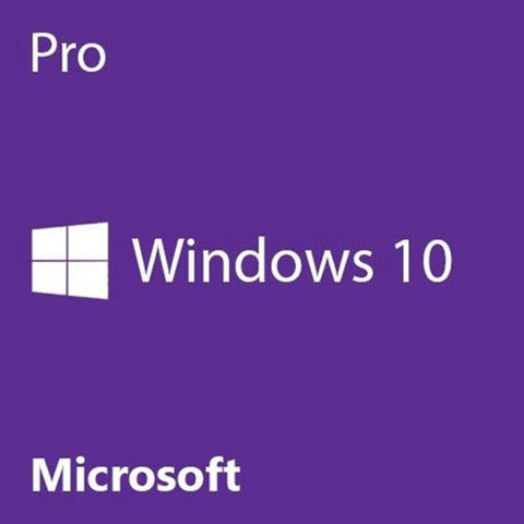 MICROSOFT WINDOWS 10 PROFESSIONAL 64-BIT - DVD