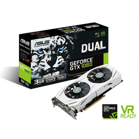 Asus Dual series GTX 1060 Oc edition 3GB