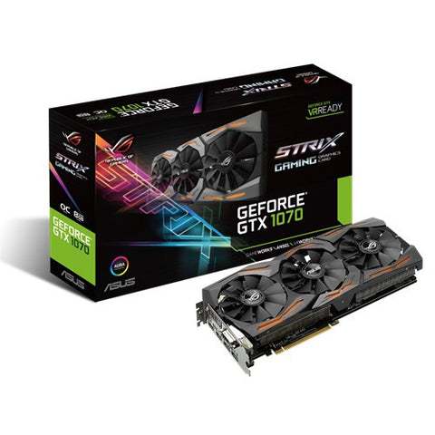 Asus GTX 1070 Strix Oc edition