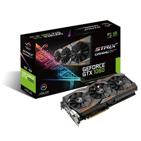 Asus GTX 1060 Strix Oc edition 6GB