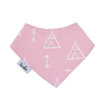 Chief Bib - Teepee Dusty Pink