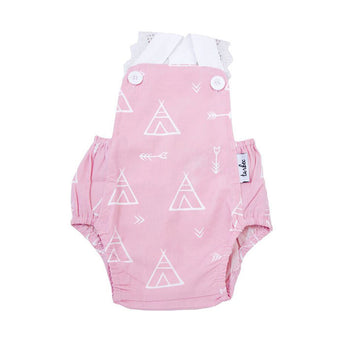 Jumpsuit with Lace - Teepee Dusty Pink