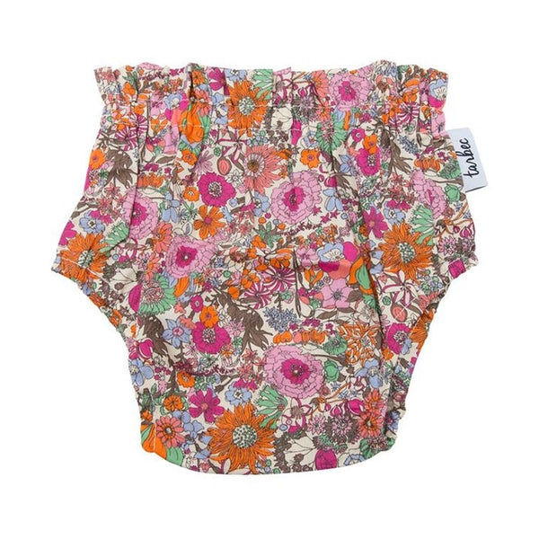 Girls Nappy Cover - Boho Floral Pink
