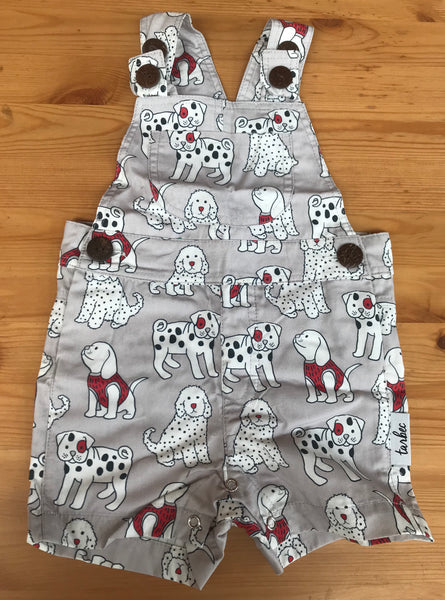 Overalls - Doggie Red