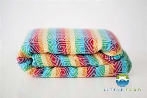 Little Frog JACQUARD Rainbow Cube