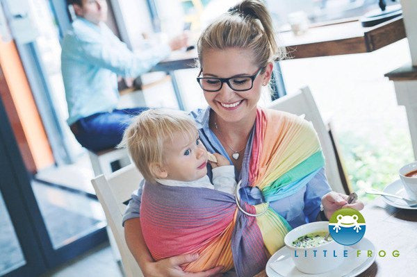Little Frog Sandy Ammolite Ring Sling