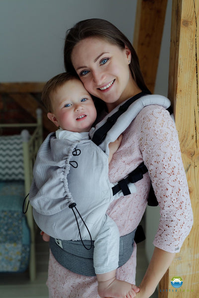 46f74cada89 Little Frog Buckle Baby Carrier Howlite  Preorder  – Woven Wraps Australia