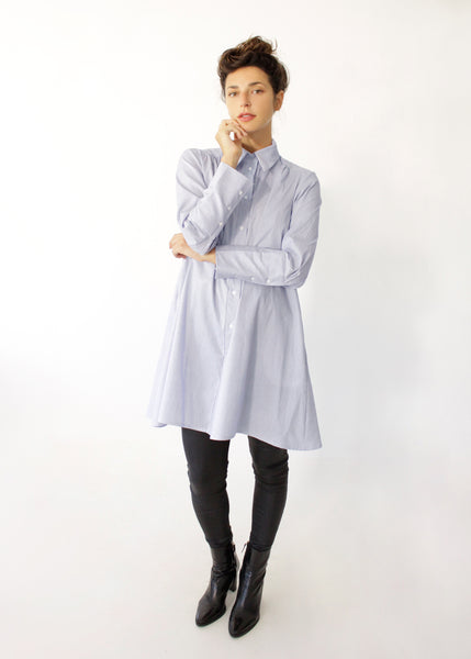 Autumn buttoned tunic