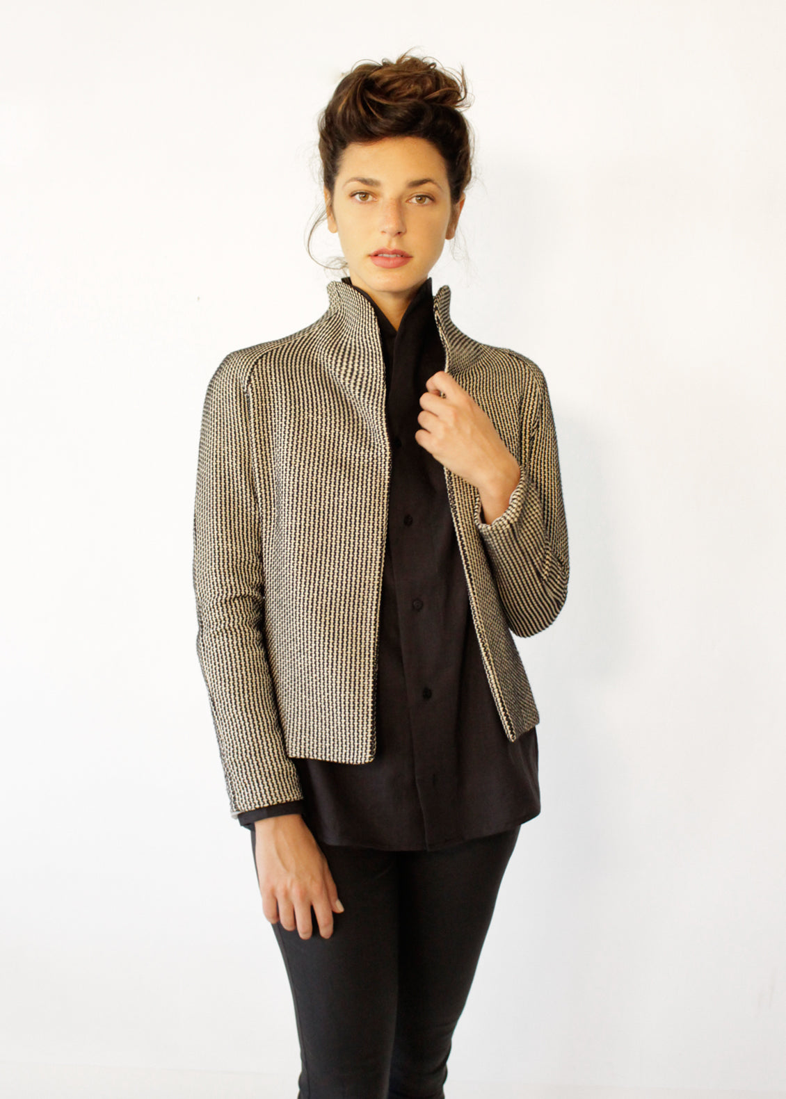 Knitted Automn Jacket