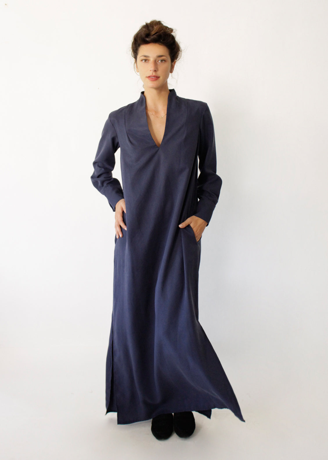 Sofia Blue Maxi Dress