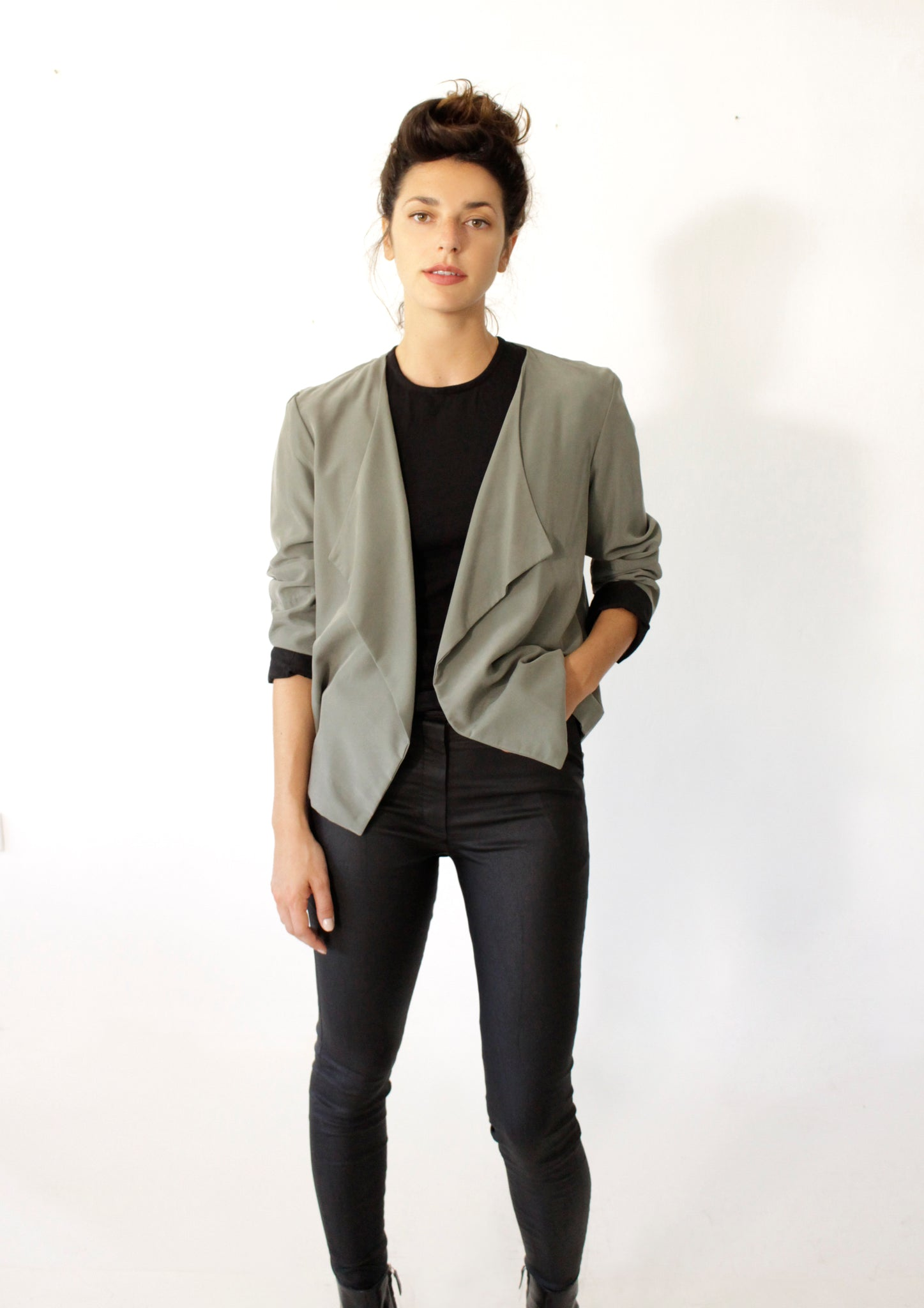 Green Tailored Jacket