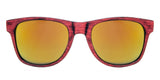Gafas de Sol Colors Wave Red Front