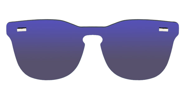 Gafas de sol Ice Purple Front