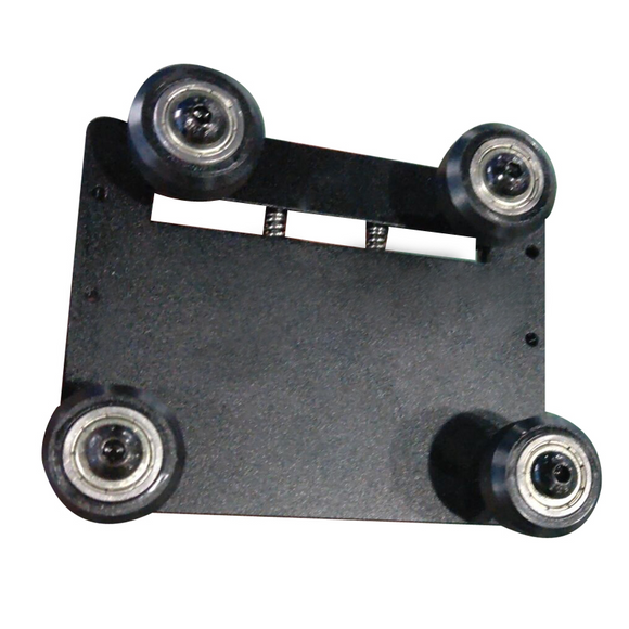 Bottom Y axis pulley frame assembly D9/400/500