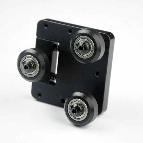 Pulley block assembly, D9/300 X & Y Axis, D9/400/500 X Axis