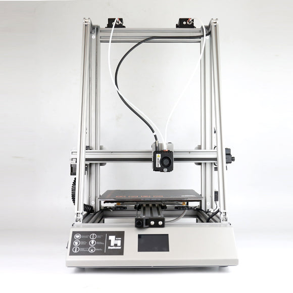 Wanhao FDM 3D Printer Duplicator 12, D12/300, With Single Extruder / Double Extruder Together