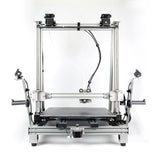 Wanhao Duplicator 12 D12/500 D12-500 Double Extruder 3D Printer With WIFI and 3D Touch